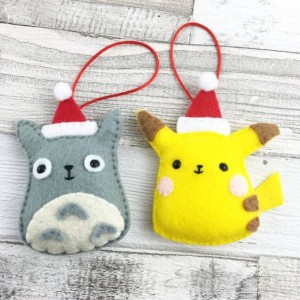 Filz Anhänger Pokemon Pikatchu Totoro