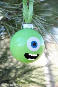 Weihnachtsbaumkugel Disney Monster AG