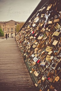 Schlösse Brücke Liebesschloss Geschenk
