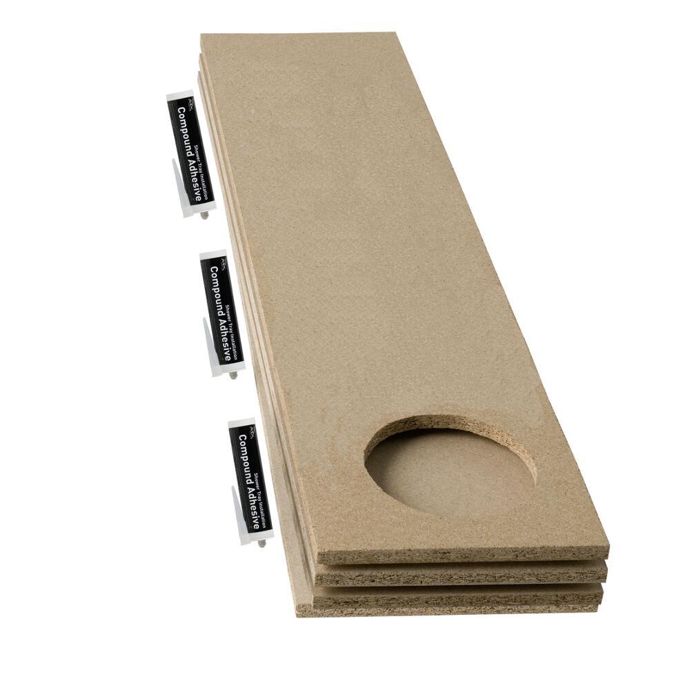 Armaturen Maxon Duschwannen Baseboard Set für extra Belastungsunterstützung