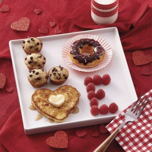 Valentinstag Frühstück Liebe